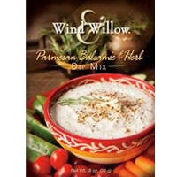Wind & Willow Parmesan Balsamic & Herb Dip Mix