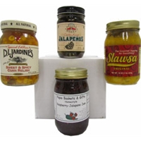 Cool Condiments 4 Jar Gift Set