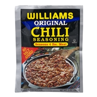 Williams Country Store Original Chili Seasoning For 4 lbs. Meat