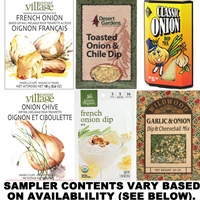 Onion Dip Mix Sampler