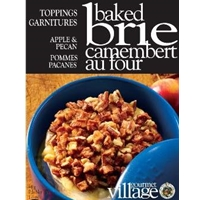 Gourmet du Village Apple & Pecan Baked Brie Topping