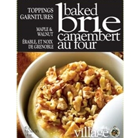 Gourmet du Village Maple & Walnut Baked Brie Topping