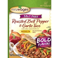 Mrs. Wages Roasted Bell Pepper & Garlic Taco Seasoning Mix