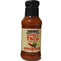Jardine's Street Taco Sauce - Red Chile Tomatillo