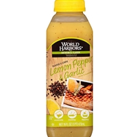 World Harbors Maine's Own Lemon Pepper Sauce & Marinade