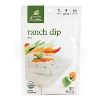 Simply Organic Ranch Dressing Mix