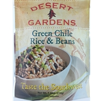 Desert Gardens Green Chile Rice and Beans