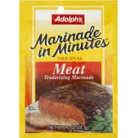 Adolphs Marinade in Minutes Original Meat Tenderizing Marinade