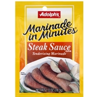 Adolphs Marinade in Minutes Steak Sauce Tenderizing Marinade