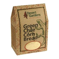Desert Gardens Green Chile Corn Bread Mix