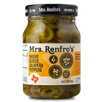 Mrs Renfros Nacho Sliced Jalapeno Peppers