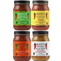 Mateo's 4 Jar Gift Set