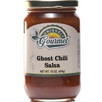 Uniquely Gourmet Ghost Chili Salsa