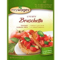 Mrs. Wages Create Bruschetta