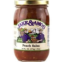 Jake & Amos Peach Salsa