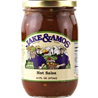 Jake and Amos Hot Salsa