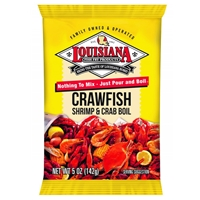 Louisiana Fish Fry Crawfish, Shrimp & Crab Boil - 5 oz