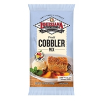 Louisiana Fish Fry Fruit Cobbler Mix