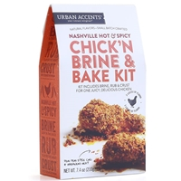 Urban Accents Nashville Hot & Spicy Chick'n Brine & Bake Kit