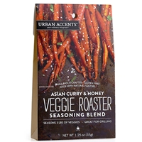 Urban Accents Asian Curry & Honey Veggie Roaster