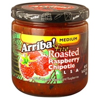 Arriba Fire-Roasted Raspberry Chipotle Salsa