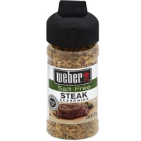 Weber Salt Free Steak Seasoning - 2.5 oz