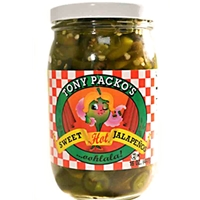 Tony Packo's Sweet Hot Jalapenos