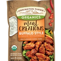 Orrington Farms Organics Meal Creations Buffalo Style Sauce Seasoning