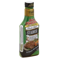 Tony Chachere's Famous Creole Cuisine Creole Style Steakhouse  Marinade, 12oz.