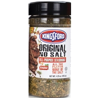 Kingsford Original No Salt All Purpose Seasoning