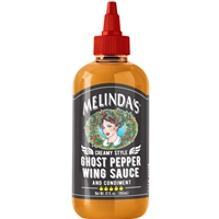 Melinda's Creamy Style Ghost Pepper Wing Sauce and Condiment