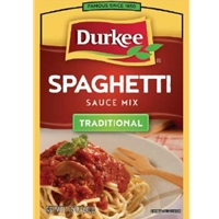 Durkee Traditional Spaghetti Sauce Mix