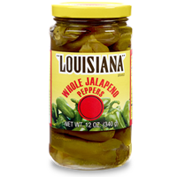 Louisiana Brand Whole Jalapeno Peppers