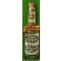 Louisiana Gold Green Pepper Sauce - 2 oz