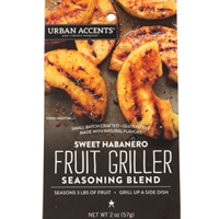 Urban Accents Sweet Habanero Fruit Griller Seasoning Blend