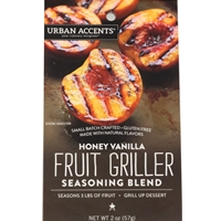 Urban Accents Honey Vanilla Fruit Griller Seasoning Blend