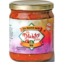Little Diablo Mild Garlic Salsa