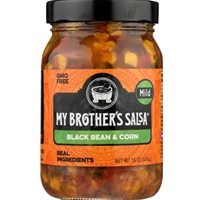 My Brother's Salsa Black Bean & Corn Mild Salsa