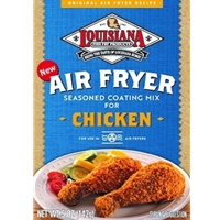 Louisiana Fish Fry Air Fryer Seasoned Coating Mix for Chicken