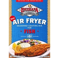 Louisiana Fish Fry Air Fryer Seasoned Coating Mix for Fish