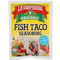 La Preferida Organic Fish Taco Seasoning