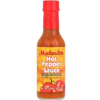 Matouk's Hot Pepper Sauce 5 oz