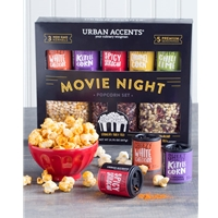 Urban Accents Movie Night Gourmet Popcorn Gift Set