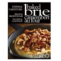 Gourmet du Village Pecan & Brown Sugar Baked Brie Topping