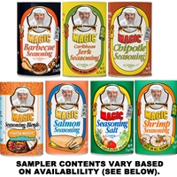 Chef Paul Magic Specialty Seasoning Blend Sampler
