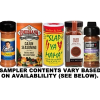 Cajun Seasoning Sampler