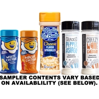 Cheese Popcorn Seasoning Sampler