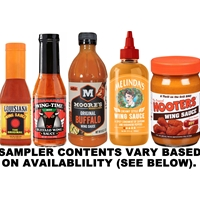 Hot Wing Sauce Sampler