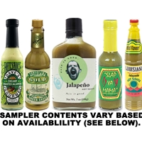 Jalapeno Hot Sauce Sampler