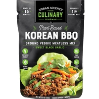 Urban Accents Plant Based Korean BBQ Meatless Mix